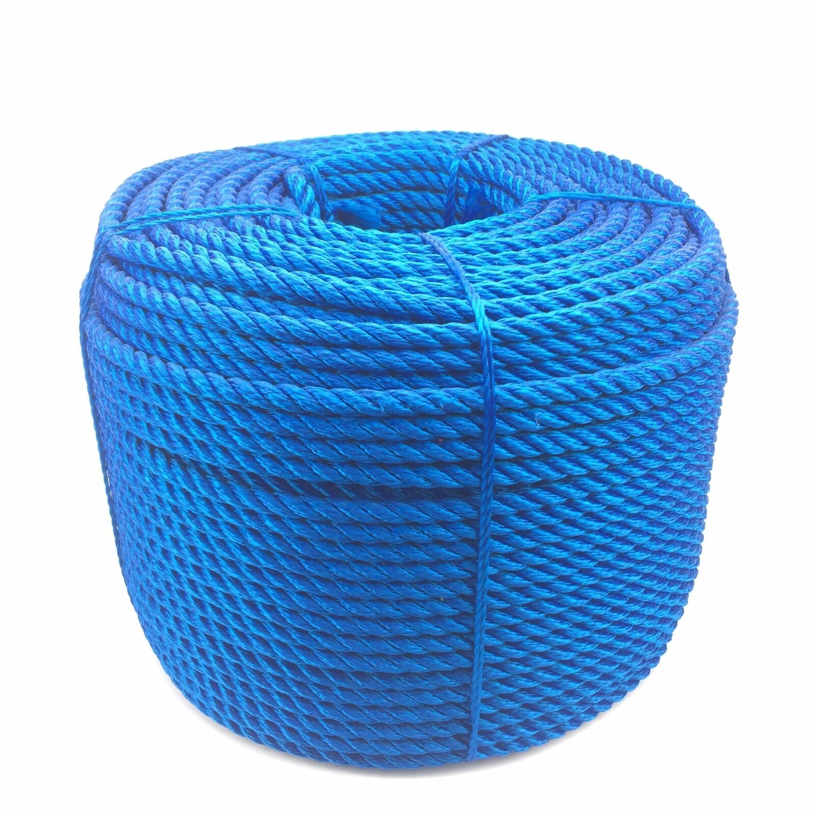 3 Strand Royal bluee Multifilament 14mm (Floating Rope) x 220m Coil Boats Yachts
