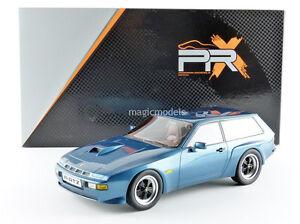 Ixo Premium X 1981 Porsche 924 Turbo Combi Par Artz Bleu Couleur 0.1cm Stock!
