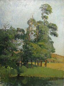 Eugene-Jacques-Schlumberger-1879-1960-Paesaggio-Impressionista-Bretagna
