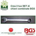 Chiavi combinate poligonali BGS CHROME VANADIUM da 6mm a 41mm