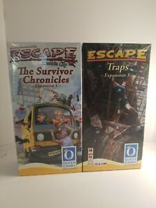 Queen Games Escape Zombie City The Survivor Chronicles Expansion One New Sealed