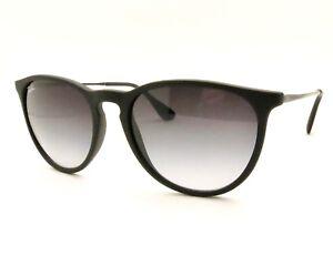 Ray Ban RB 4171 F Asian Fit Erika 622 8G 54 Black Rubber Grey Fade ... db0f73ea2b