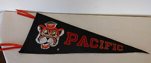 Vintage Pacific University Pennant 1960