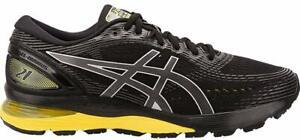 ASICS-1011A169-003-Men-039-s-Gel-Nimbus-21-Black-Lemon-Spark-Running-Shoe