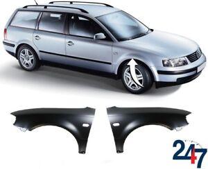 Neu-VW-Passat-B5-1997-2000-Vorder-Fluegel-Kotfluegel-mit-Blinker-Loch-Links