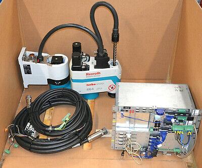 Kompetent Bosch Rexroth Schwenkarmroboter Turbo Scara Sr4 Plus + Steuereinheit + Kabel üPpiges Design