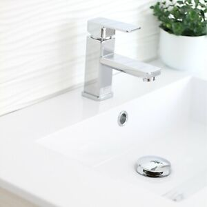 Pop-up Drain with Overflow D-701C Chrome Polished