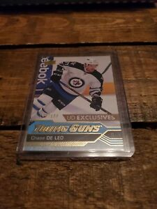 16-17-UPPER-DECK-UD-EXCLUSIVES-YOUNG-GUNS-CHASE-DE-LEO-100
