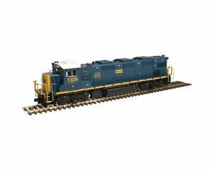 ATLAS-10002678-HO-SCALE-NRE-Genset-II-Silver-CSX-1313-Diesel-DC-DCC-READY