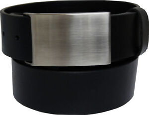 Ledergurtel-Guertel-aus-Vollrindleder-glatt-4mm-dickes-leder-ca-4-cm-breit-NEU