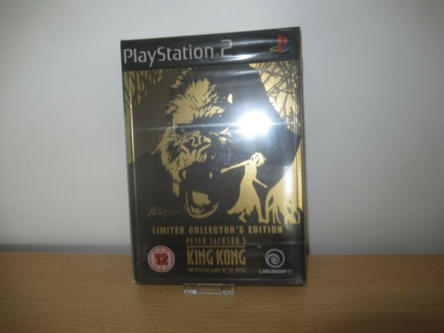 King Kong - Collector's Edition (PS2), new and sealed pal version