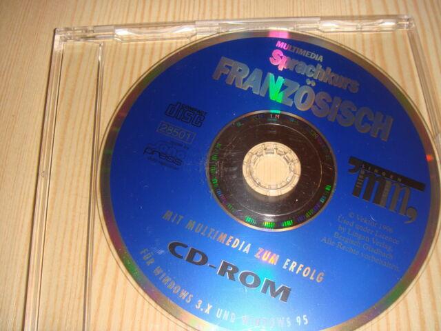 Französisch Multimedia CD ROM Sprachkurs