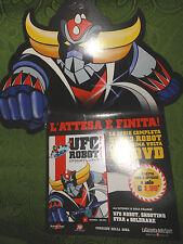 DVD UFO ROBOT GOLDRAKE Gazzetta Edicola 1° Prima Uscita Numero 1 Cartone Animato