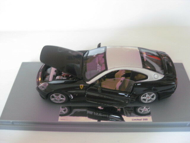BBR Gasoline Ferrari 612 Scaglietti engine & DOORS OPEN Fixed 1 43 Nouveau dans neuf dans sa boîte