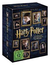 Harry Potter Komplettbox Teil 1 bis 7.2 Neu in Folie 8xDvD,s+Hüllen+Cover+Box