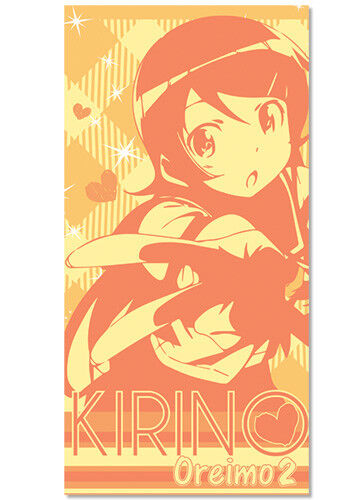 Oreimo 2 New Kirino Toys Gifts Beach//Bath Anime Licensed ge58017 Towel