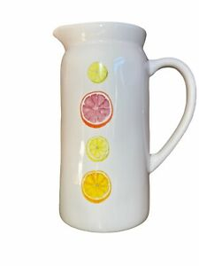 New-RAE-DUNN-Citrus-Icon-Pitcher-Canister-Vase-by-Magenta-Farmhouse-Artisan