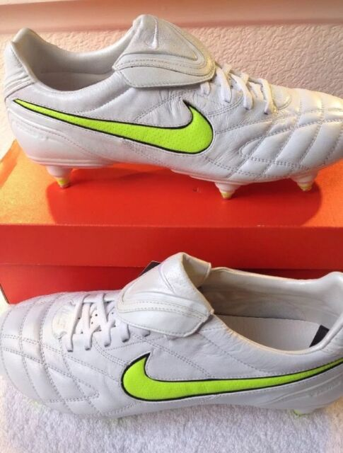 cef5f0f29 Vintage RARE 2010 Nike Tiempo Legend III K Football BOOTS US 10.5 UK ...