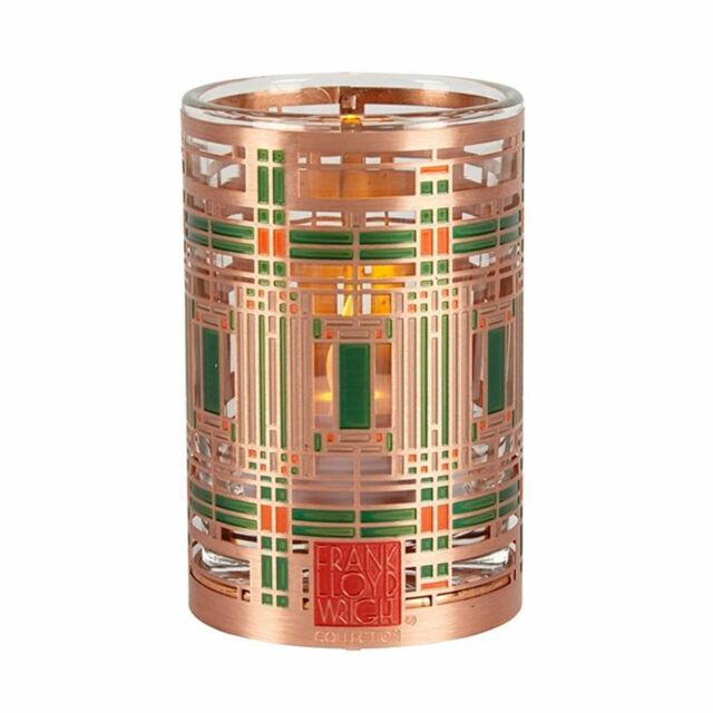 Frank Lloyd Wright Oak Park Skylight Design Votive Candle Holder