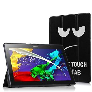 purchase cheap 0d110 ba1cc Details about Slim Smart Case Stand Cover for Lenovo Tab E10 TB-X103F 10  Inch 16GB Tablet