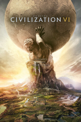 OTH624 RGC Huge Poster Civilization VI PC