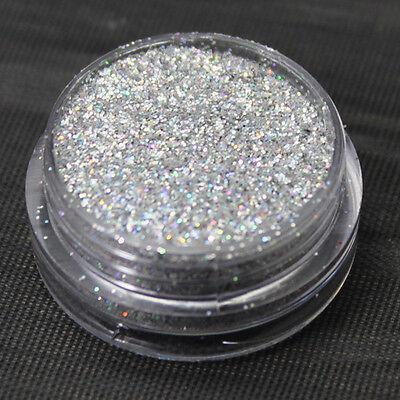 60 Colour Fine Dust Glitter Nail Art Face Body Eye Shadow Craft Paint Iridescent