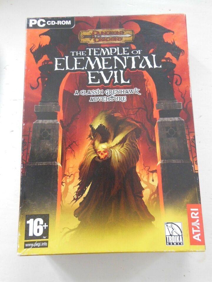 Dungeons & Dragons Temple of Elemental Evil, til pc, MMORPG