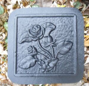 Rose-tile-mold-reusable-casting-stepping-stone-mold