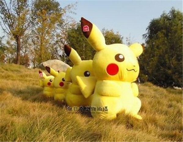 85cm PokéMon Go Pikachu Plush Toy Huge Stuffed Stuffed Stuffed Soft Doll Birthday Gifts Handmade e9dc53