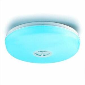 alexa LED de musica bluetooth de Detalles de techo amazon lampara inteligente con wnk0OP