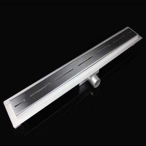 ULTRA FLACH NUR 54mm DUSCHRINNE ABLAUFRINNE BODENABLAUF DUSCHABLAUF █▬█ █ ▀█▀