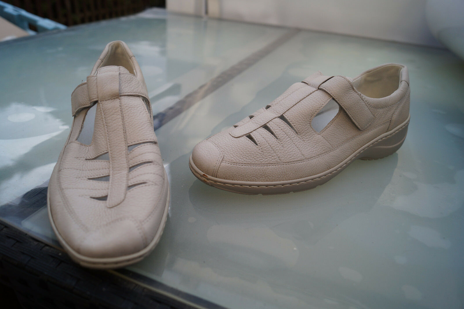 WALDLÄUFER Damen Sommer Schuhe Comfort Sandalen leicht leicht leicht & bequem Gr.7 / 40,5 #2s 4a8fc8