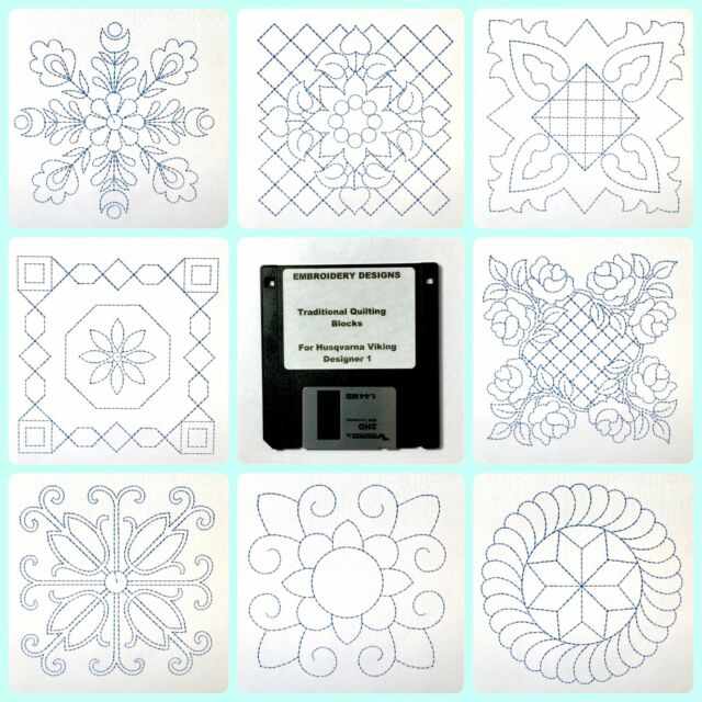 Delicate Flowers & Lace Embroidery Designs Disk For