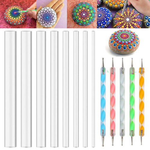 13Pcs Mandala Dotting Tool For Painting Rock Dot Kit Rock Stone Painting Pen Kit