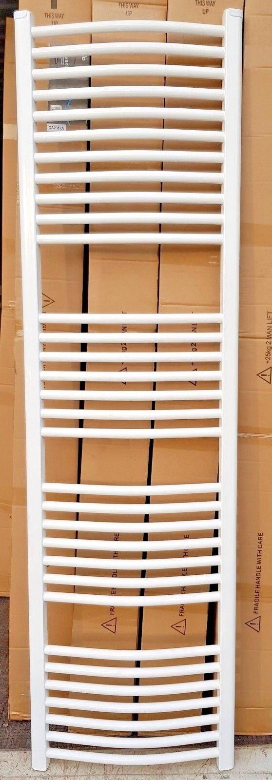 Tall BIANCO CURVO CURVO CURVO 500mm x 1750mm 4 Portasciugamani Radiatore scalda   Bagno Rad 60efd9