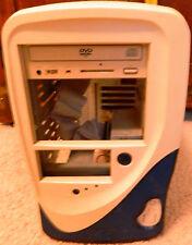Mini -Tower ATX Computer Case with 250 Watt Power Supply Seven Card Slots