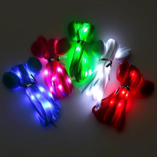 LED-Schnürsenkel Nylon leuchtend blinkend Schuhlicht Licht led-schuhe joggen
