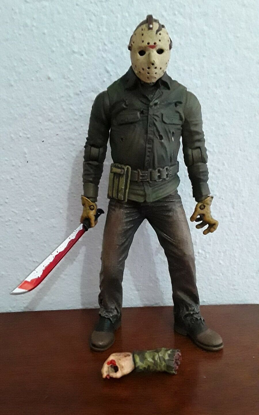 Mezco Cinema Of Fear Series 2 Friday The 13th Part6 Jason Voorhees Action Figure