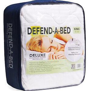 Deep Pocket Mattress Protector Defend Bed Bug Water Proof