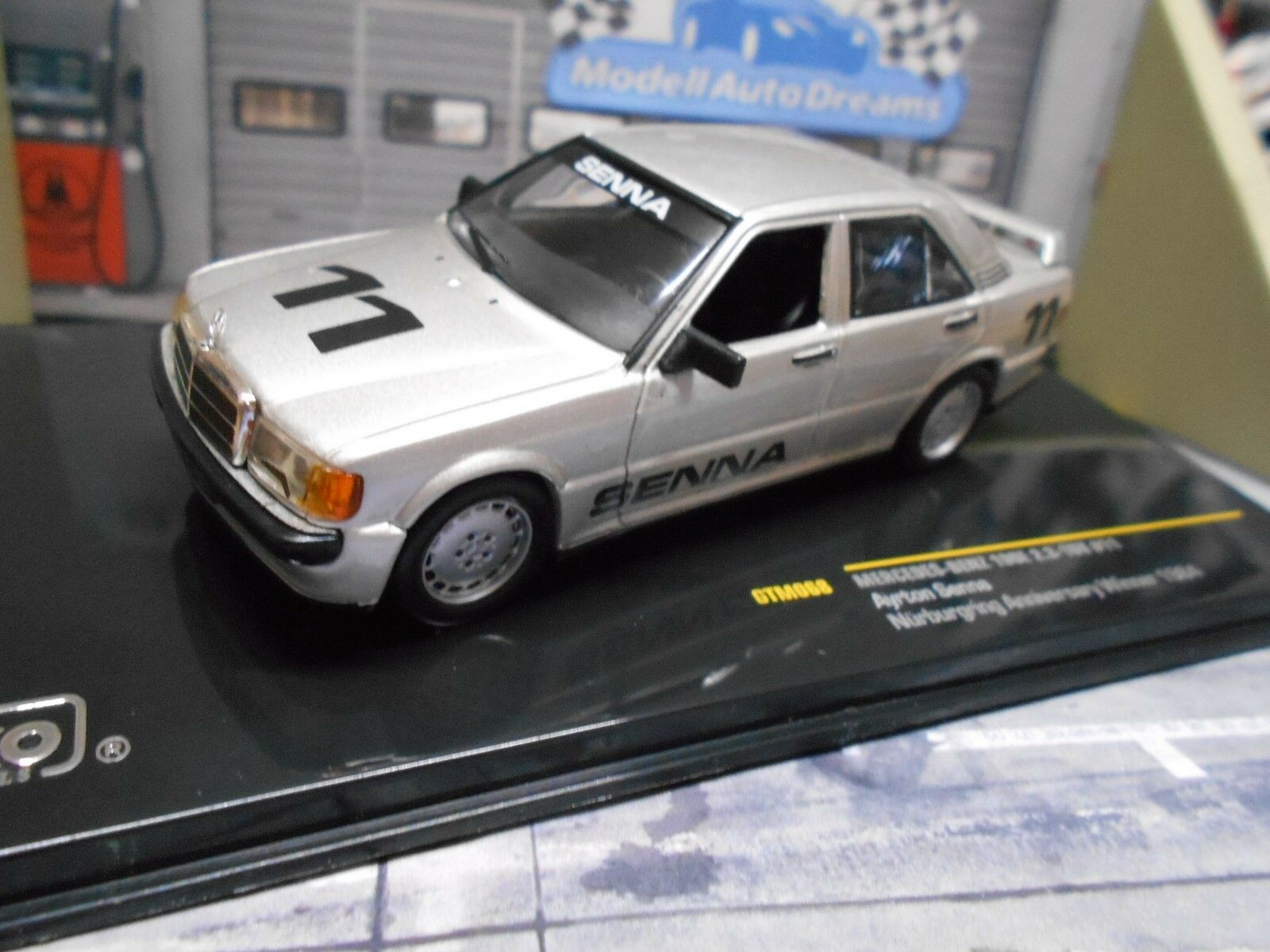 MERCEDES MERCEDES MERCEDES BENZ 190E 190 2.3-16V Nürburgring 1987  11 Senna Winner Sieger  1 43  | Niedrige Kosten  07ca4b