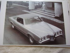 1969 PONTIAC GRAND PRIX  PHOTO MISTAKE SEE CLOSEUP   11 X 17  PHOTO   PICTURE