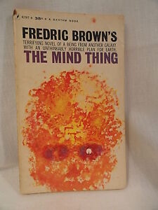 The-Mind-Thing-Paperback-Book-Bantam-A2187-Fredric-Brown-1961