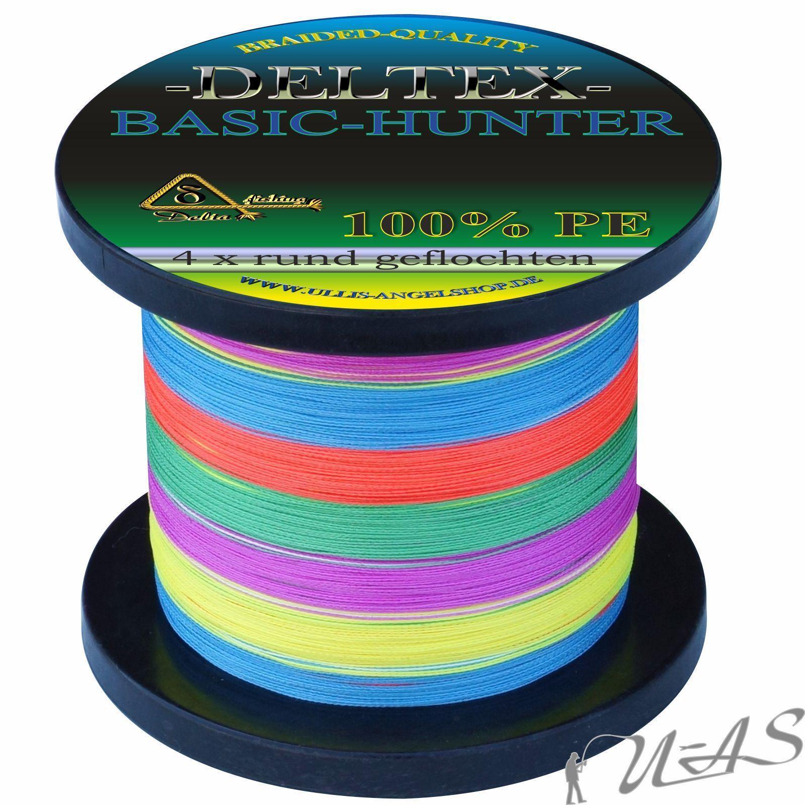 Deltex Basic Hunter Multi Farbe 0,20mm 1000M Rund Geflochtene Angelschnur Kva  | Outlet Store Online