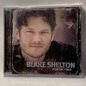 Blake-Shelton-Startin-039-Fires-New-Sealed-CD-2008-Warner-Bros