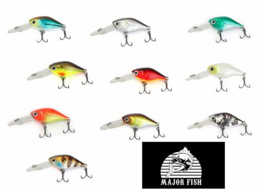 Major Fish Wobbler Little Deep Runner 68mm 6,5g schwimmend tieflaufend