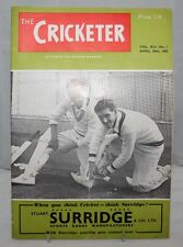 The Cricketer - 30th April 1960, Vol. XLI No.1 - Anglo-South African Cricket
