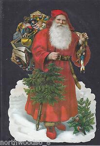 Santa Claus Cutting Dies Father Christmas Die Cuts Saint Nicholas Metal Card DIY