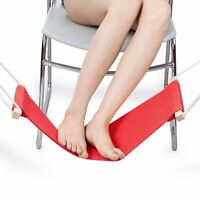 antwalking office foot rest adjustable desk feet foot hammock ottoman footstool