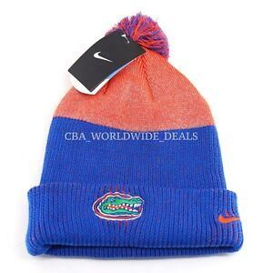 c668051e9 Details about NEW Nike NCAA Florida Gators Low Crown Reflective Knit Beanie