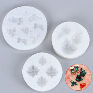 Silicone-Mold-Making-Jewelry-Pendant-Resin-Casting-Mould-DIY-Tool-Christmas-TRF